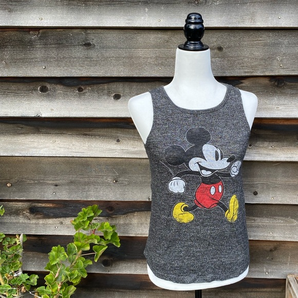 Disney Mickey Mouse graphic sleeveless top